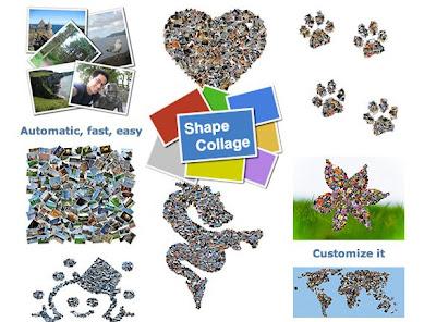 shape collage 1 - Shape Collage OSX : Creez Vos Photo Collage (gratuit)