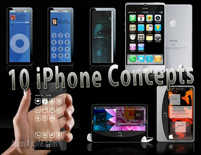 iphone concept 0 iPhone 3 : 10 Excellents Concepts (images)