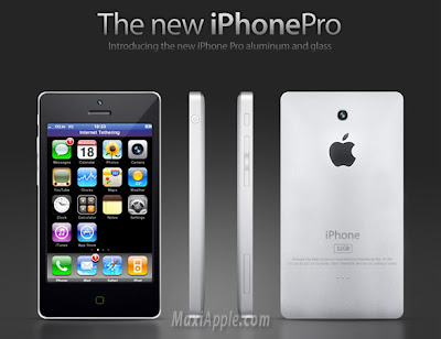 new iphone 1 iPhone Pro Alu : Nouveau Mockup (images)