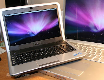 msi wind osx 1 Psystar NetBook OSX   Bientot Dispo