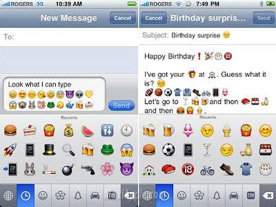 emoji iphone 2 Type Emoji iPhone : Activez les Smileys (gratuit)