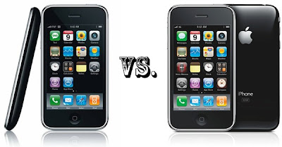 iphone 3g vs iphone 3gs iPhone 3G vs iPhone 3Gs : Tableau Comparatif (image)