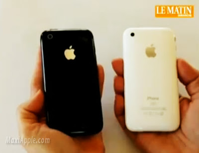 comparatif iphone3gs iPhone 3GS vs iPhone 3G : Comparatif en Video
