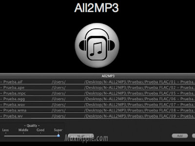 all2mp3 osx All2MP3 OSX : Convertisseur Audio Multiformat (gratuit)