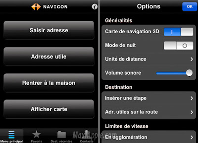 navigon lite iphone 2 GPS iPhone Gratuit : Navigon MobileNavigator France Lite