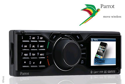 Parrot RKi8400 iphone 1 Autoradio Parrot RKi8400 Kit Mains Libres pour iPhone