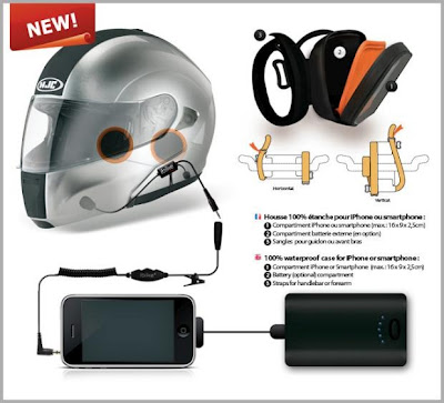 Kitibike iBike Rider iPhone : Kit Mains Libres pour Motards (images)