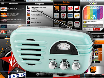 iphone radios Radios sur iPhone : 20 Applications Gratuites