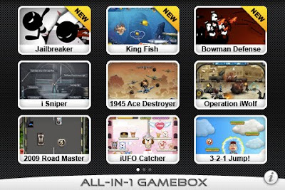 gamebox iphone 3 GameBox iPhone : 12 Excellents Jeux à 0,79c € (Temporaire)