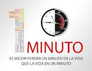 Es mejor perder un minuto e la vida