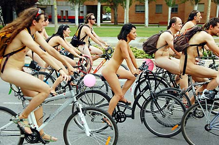riders inphila bike naked