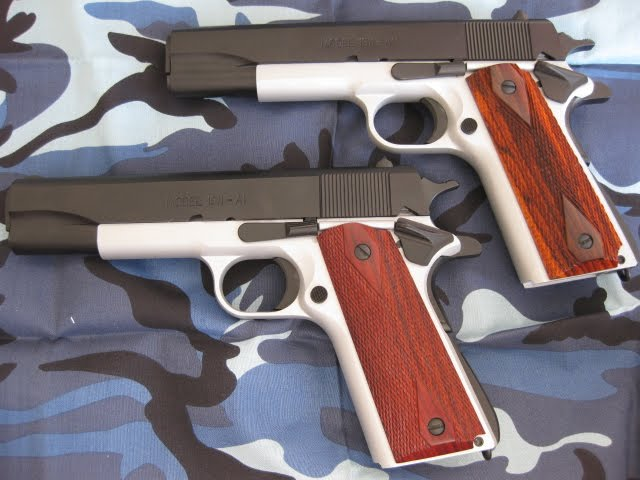 2 NEW UFIRED SPRINGFIELD 1911's