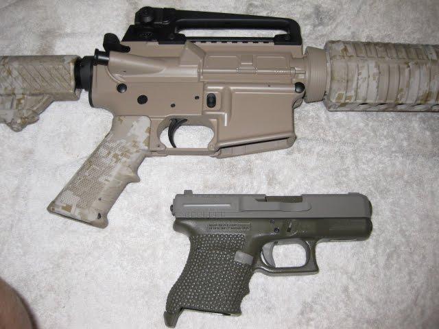 G30 ar 15 rifle camo