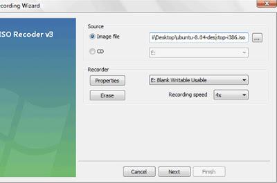 cd windows 02 medium Gravação do CD, Criação do disco de Instalação USB e Instalação do Ubuntu