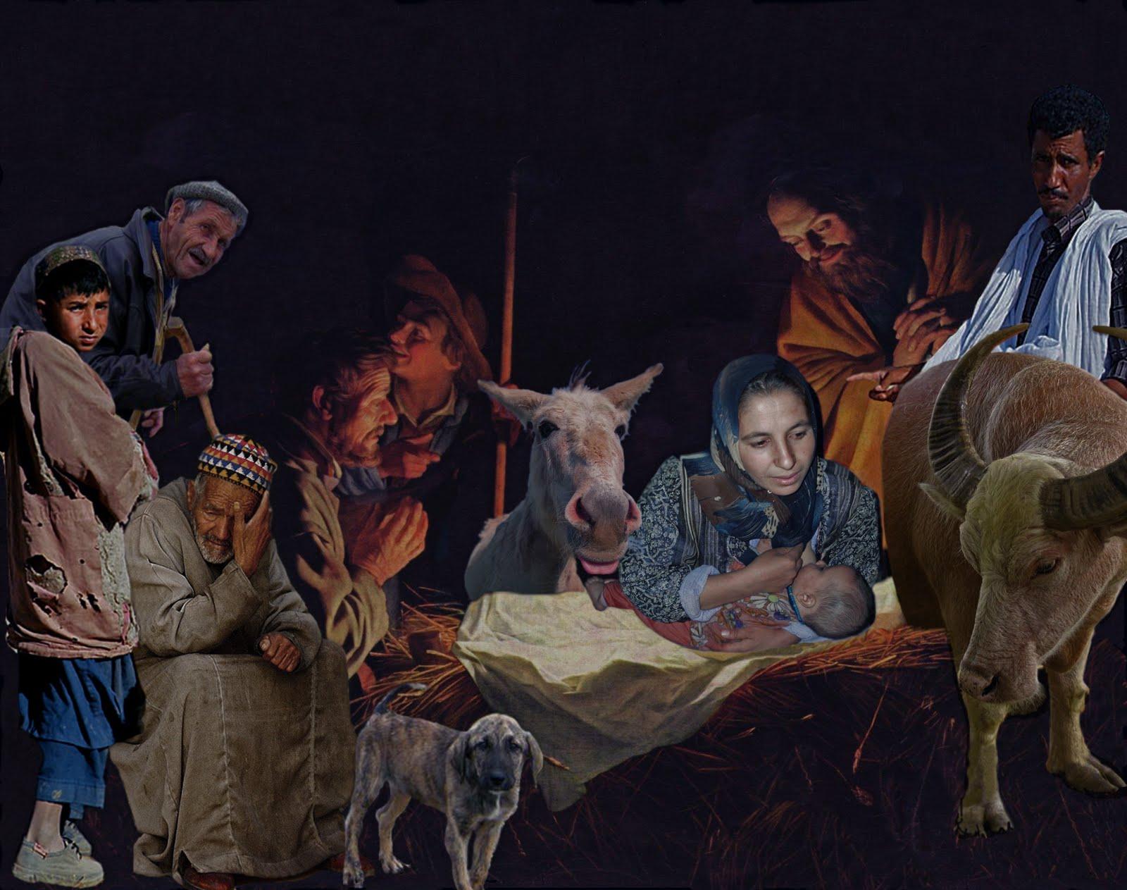 Christmas Nativity Drawing