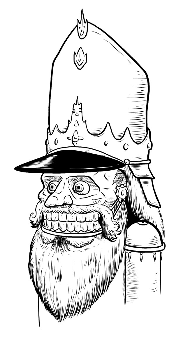 the nutcracker story coloring pages - photo#36