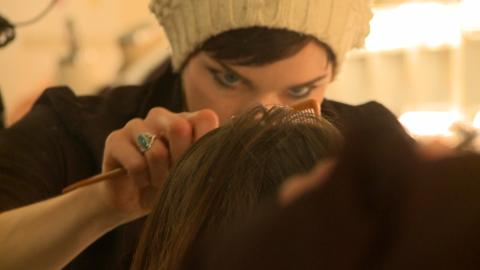 The excess hair was donated to create wigs for cancer patients that have ...