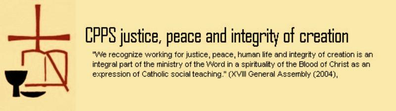 justice peace and integrity of creation essay Essay on peace: need and importance of peace creation of more international and regional institutions committed to promote peace.