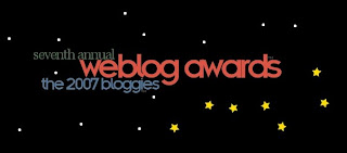 2007 Bloggies
