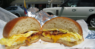 hamptons egg and bacon