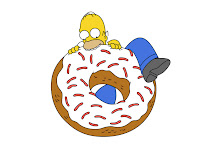 The Milk Diet: Healing Hormone Imbalances, PMS, and More: Home Simpson eating giant donut