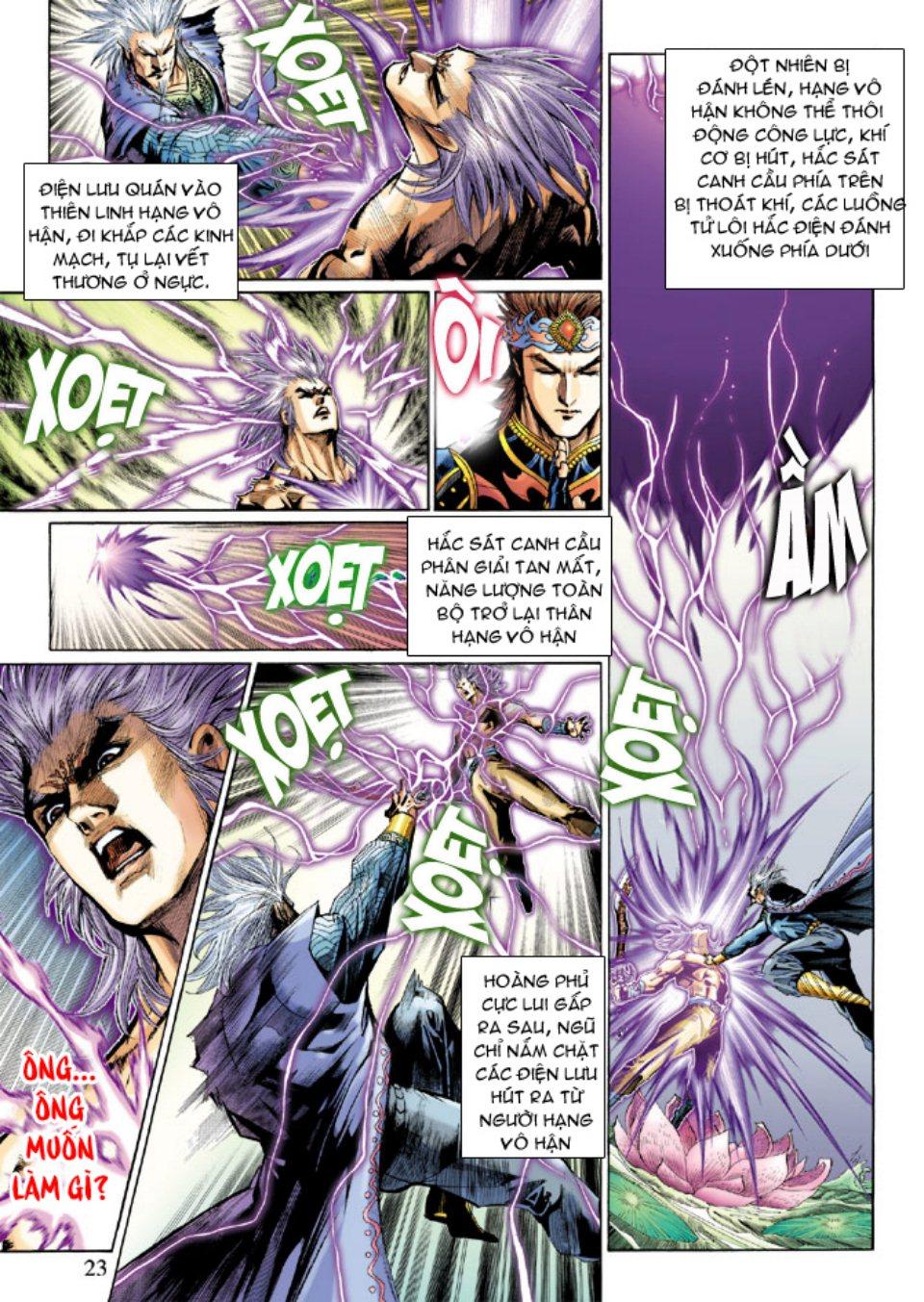 Thiên Tử Truyền Kỳ 5 – Như Lai Thần Chưởng chap 214 – End Trang 22 - Mangak.info