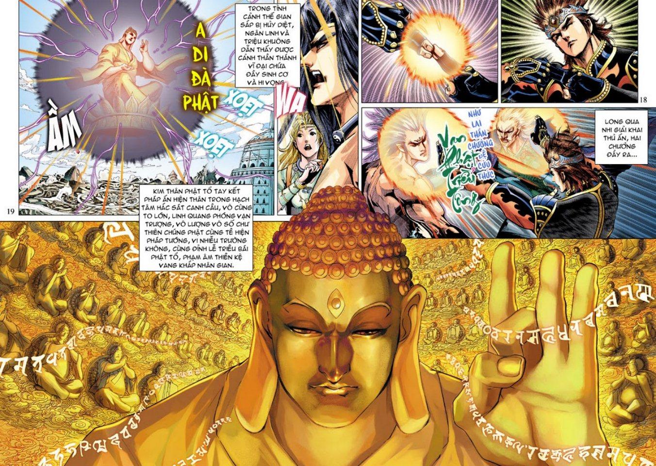 Thiên Tử Truyền Kỳ 5 – Như Lai Thần Chưởng chap 214 – End Trang 18 - Mangak.info