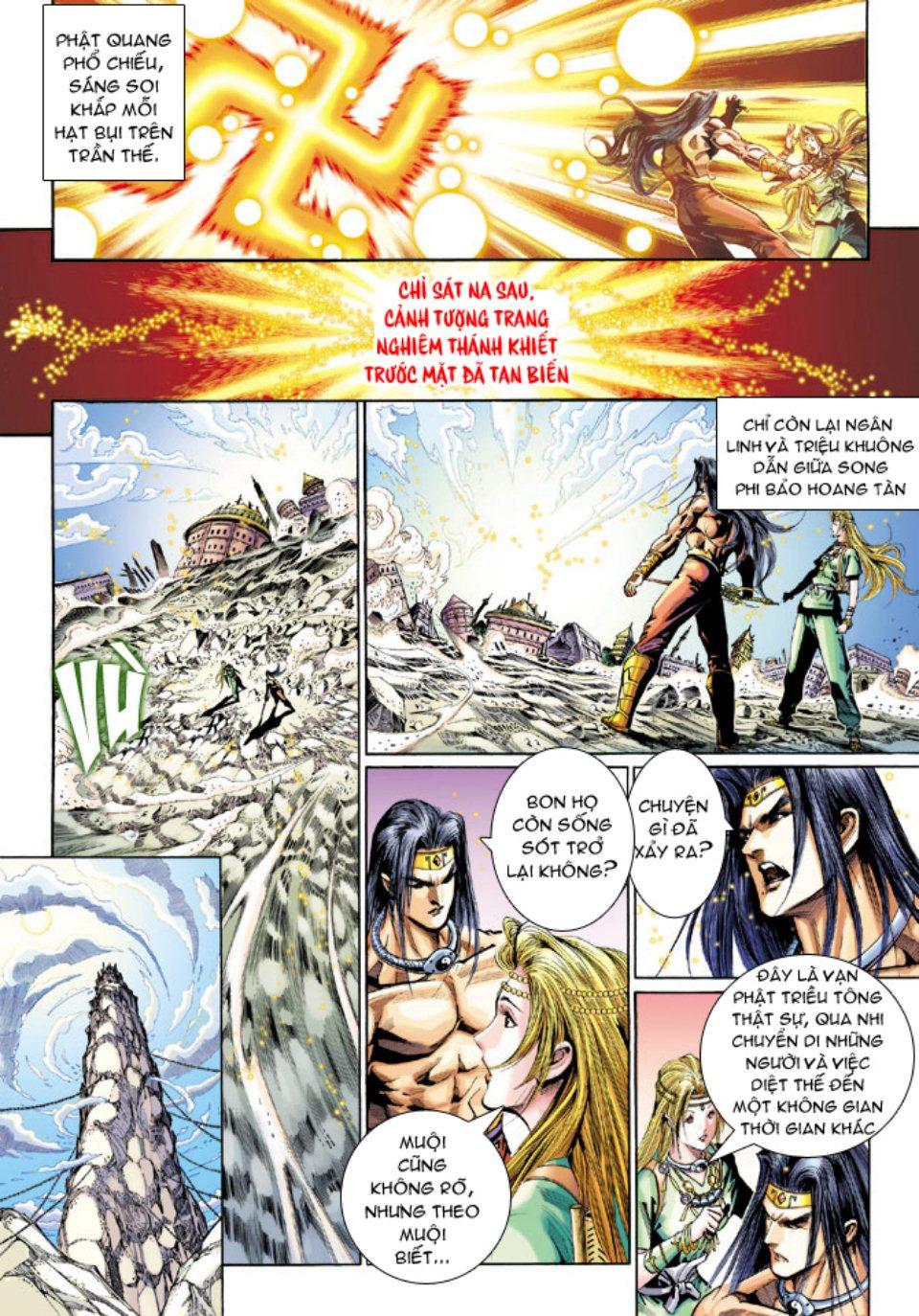 Thiên Tử Truyền Kỳ 5 – Như Lai Thần Chưởng chap 214 – End Trang 19 - Mangak.info