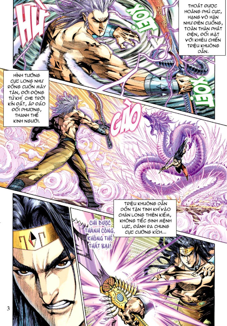 Thiên Tử Truyền Kỳ 5 – Như Lai Thần Chưởng chap 214 – End Trang 4 - Mangak.info