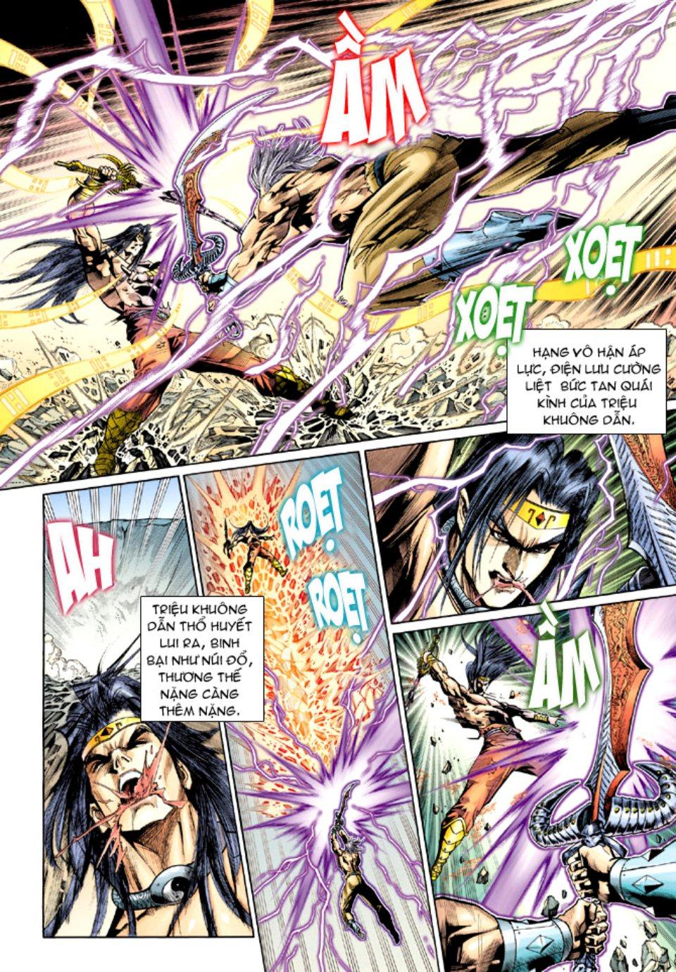 Thiên Tử Truyền Kỳ 5 – Như Lai Thần Chưởng chap 214 – End Trang 8 - Mangak.info