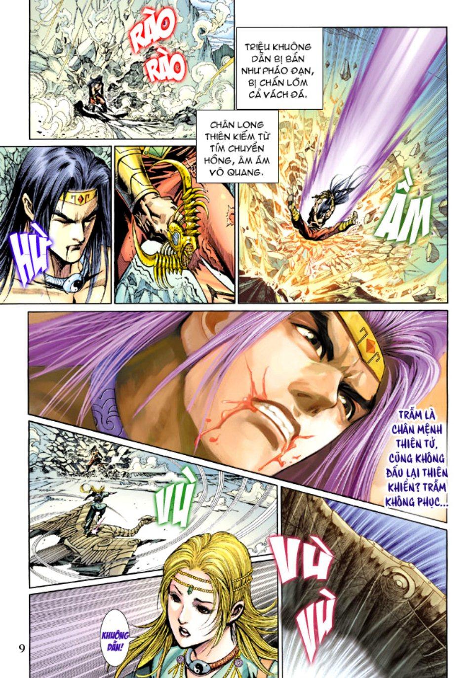 Thiên Tử Truyền Kỳ 5 – Như Lai Thần Chưởng chap 214 – End Trang 9 - Mangak.info