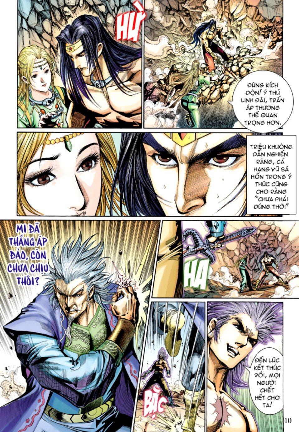 Thiên Tử Truyền Kỳ 5 – Như Lai Thần Chưởng chap 214 – End Trang 10 - Mangak.info
