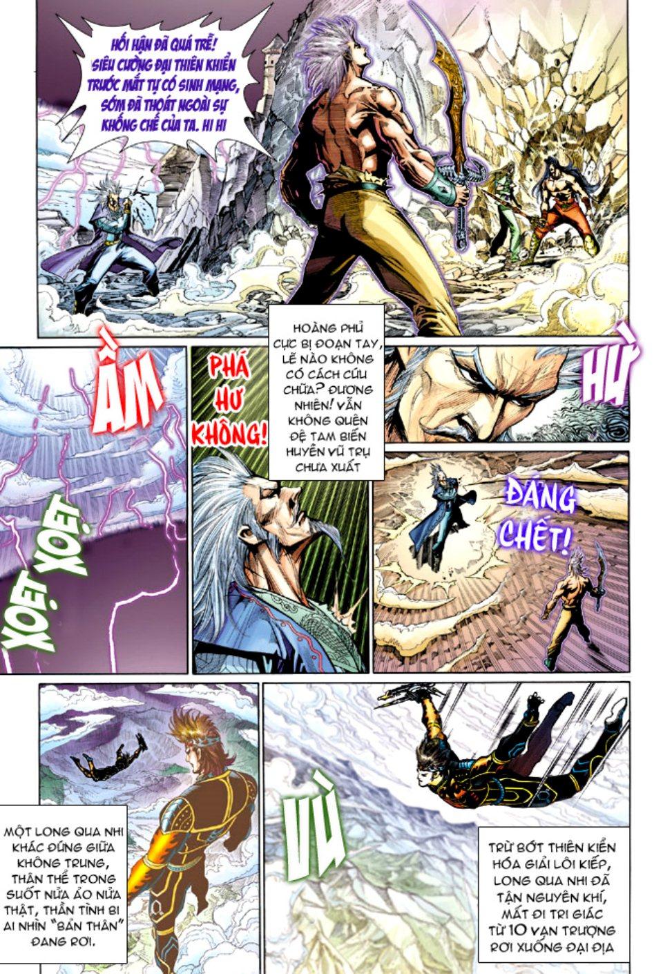 Thiên Tử Truyền Kỳ 5 – Như Lai Thần Chưởng chap 214 – End Trang 11 - Mangak.info