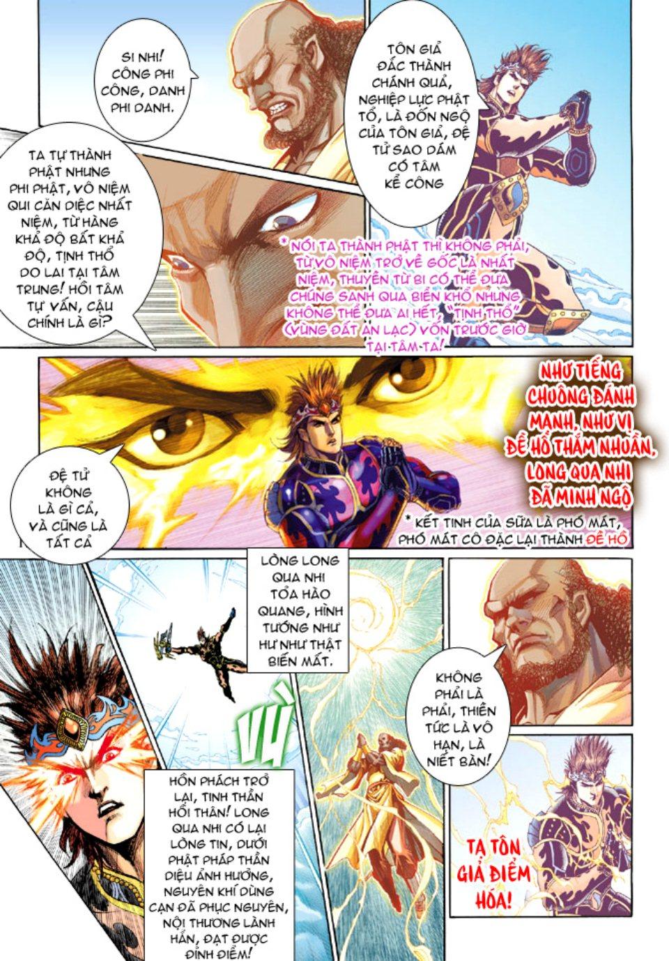 Thiên Tử Truyền Kỳ 5 – Như Lai Thần Chưởng chap 214 – End Trang 13 - Mangak.info