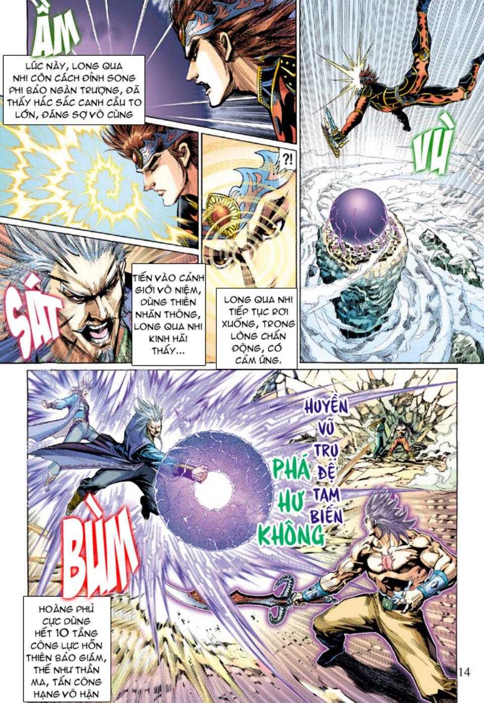 Thiên Tử Truyền Kỳ 5 – Như Lai Thần Chưởng chap 214 – End Trang 14 - Mangak.info
