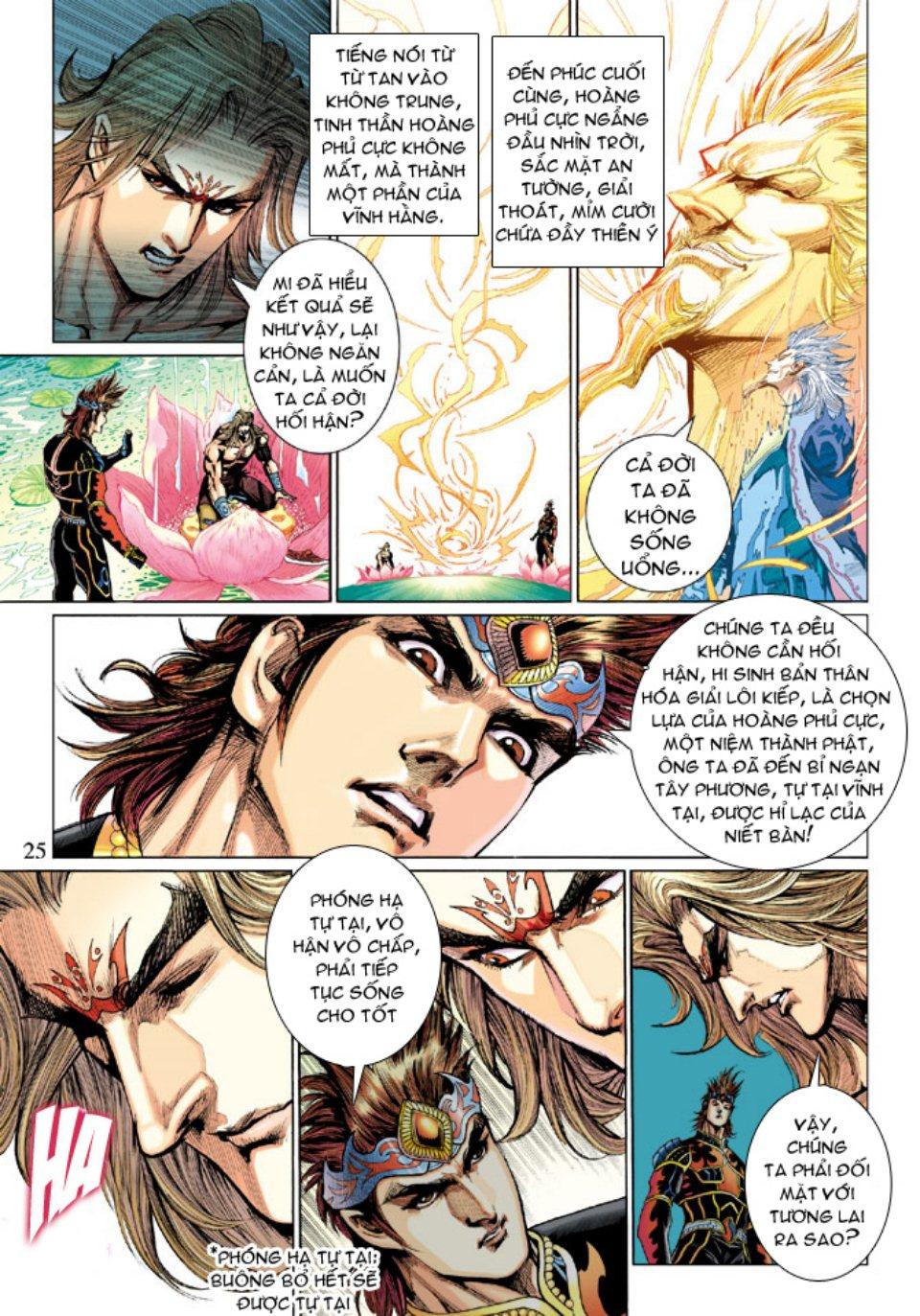 Thiên Tử Truyền Kỳ 5 – Như Lai Thần Chưởng chap 214 – End Trang 24 - Mangak.info