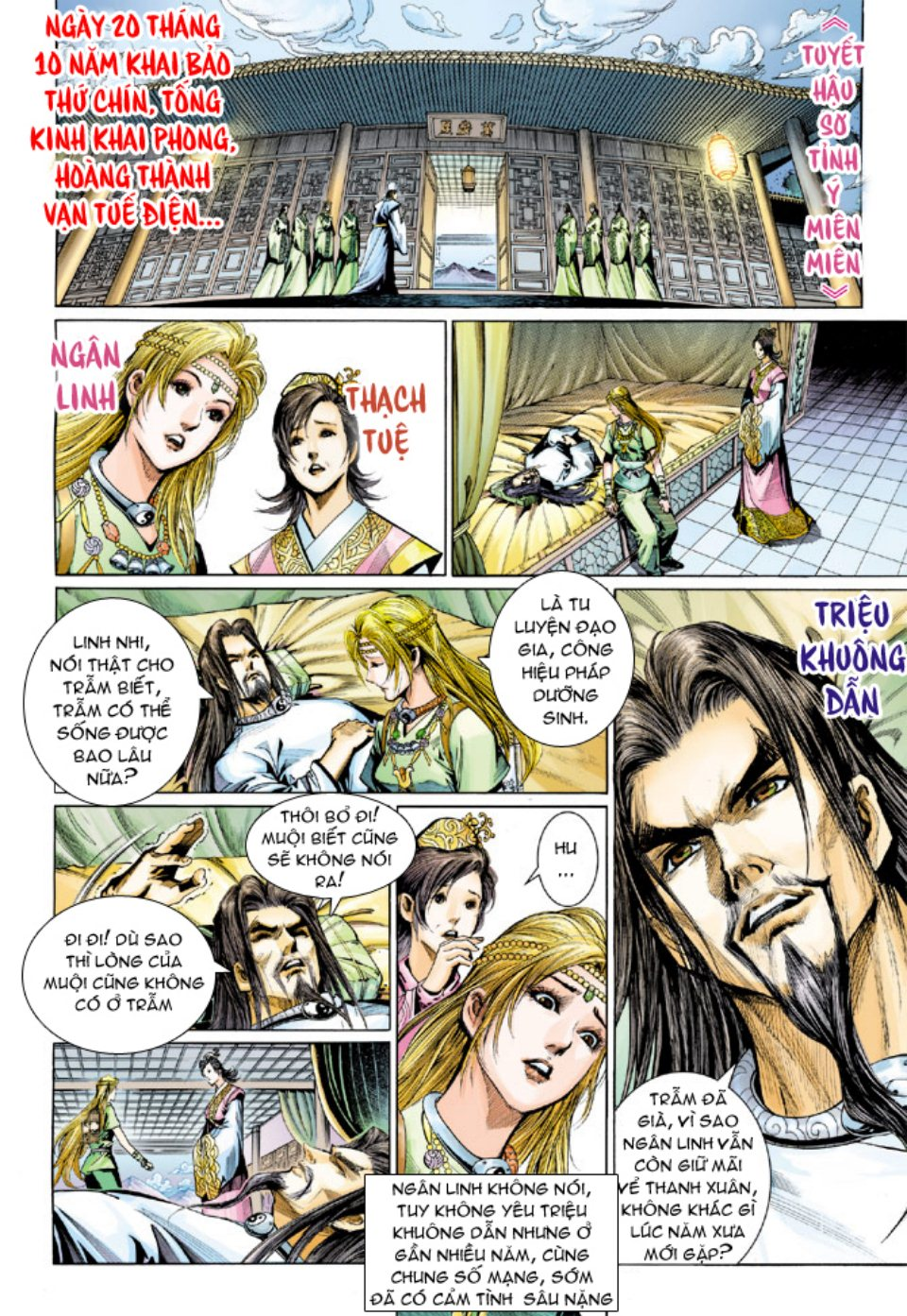 Thiên Tử Truyền Kỳ 5 – Như Lai Thần Chưởng chap 214 – End Trang 29 - Mangak.info