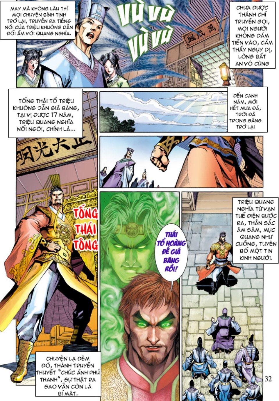 Thiên Tử Truyền Kỳ 5 – Như Lai Thần Chưởng chap 214 – End Trang 31 - Mangak.info