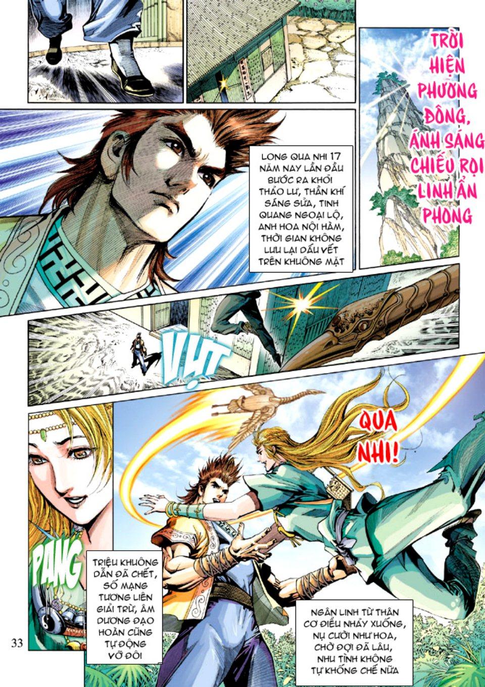 Thiên Tử Truyền Kỳ 5 – Như Lai Thần Chưởng chap 214 – End Trang 32 - Mangak.info