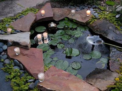 rudy dewanto: membuat kolam ditaman