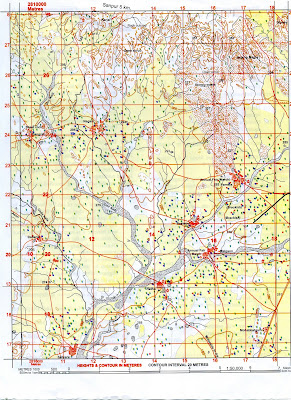 Sample Answer Key for 45D/10 map   Geo Jaydeep
