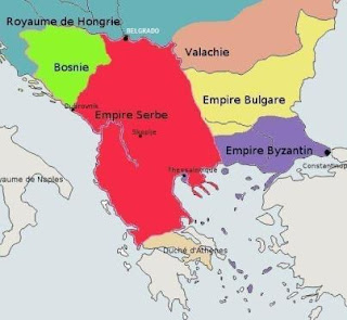 Imperio Serbio de Esteban Dushan