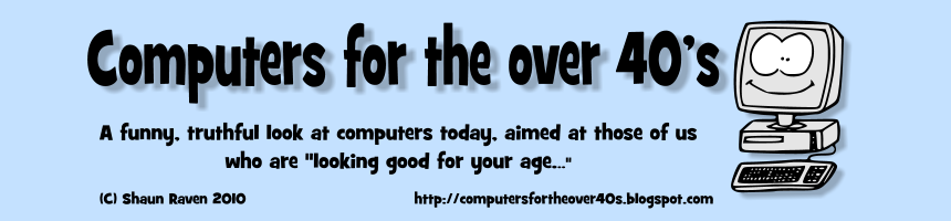 Computers for the over 40's