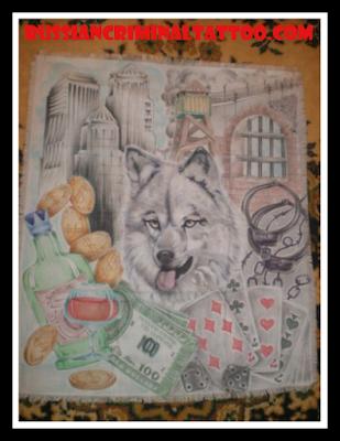 Рисунок из тюрьмы