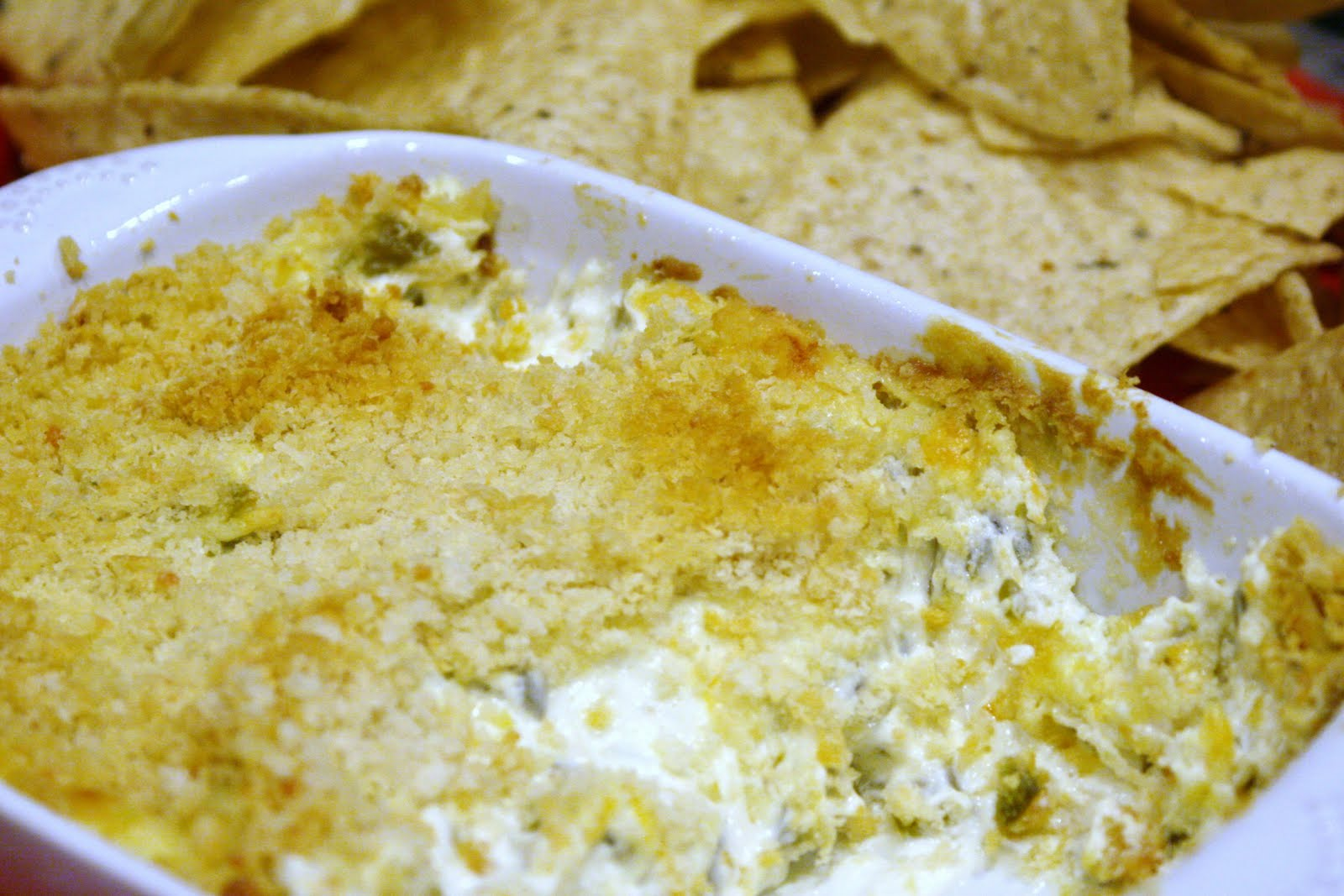 Food from the Forest: Jalapeno Popper Dip