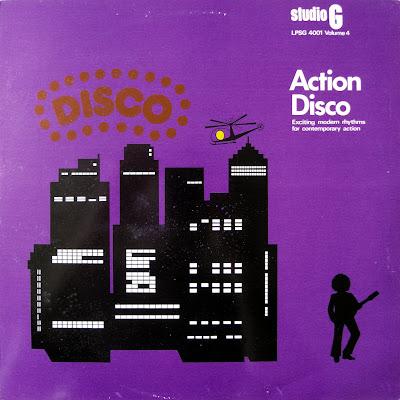 Action Disco - Studio G LPSG 4001 vol 4