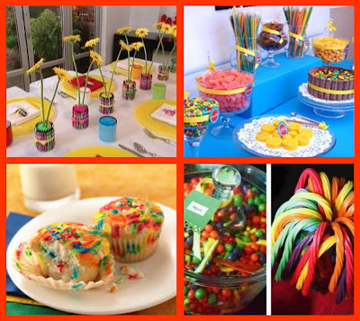 Celebrations at Home: A Colorful Crayola Birthday Party.