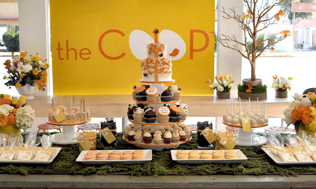 A 39 tweet 39 dessert table guest feature celebrations at home for Table 52 dessert