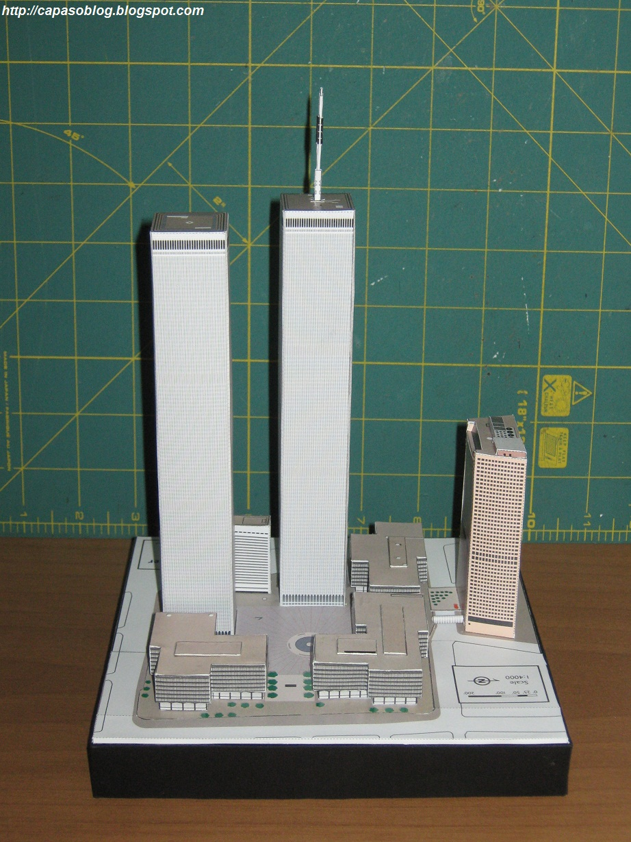 World Trade Center Paper Model