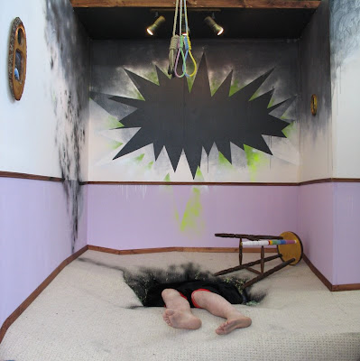 Suicide Attempt Thwarted by Spontaneous Human Combustion, May 2008